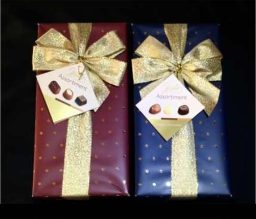 Coffret de chocolats - Financer des projets éducatifs